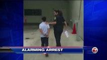 Etats-Unis : Un garçon de 7 ans menotté après avoir frappé sa professeur