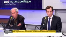 """Nicolas Bay (FN) : Les accusations contre Gérald Darmanin """"nécessite de les traiter avec sérieux et pas comme le fond les Républicains, animés par la rancune politique, à essayer de faire la peau à leur ancien petit camarade"""""""