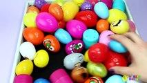 100 Surprise Eggs! Opening Peppa Pig Disney Trolls PJ Masks Paw Patrol Mickey Mouse Toy Surprises