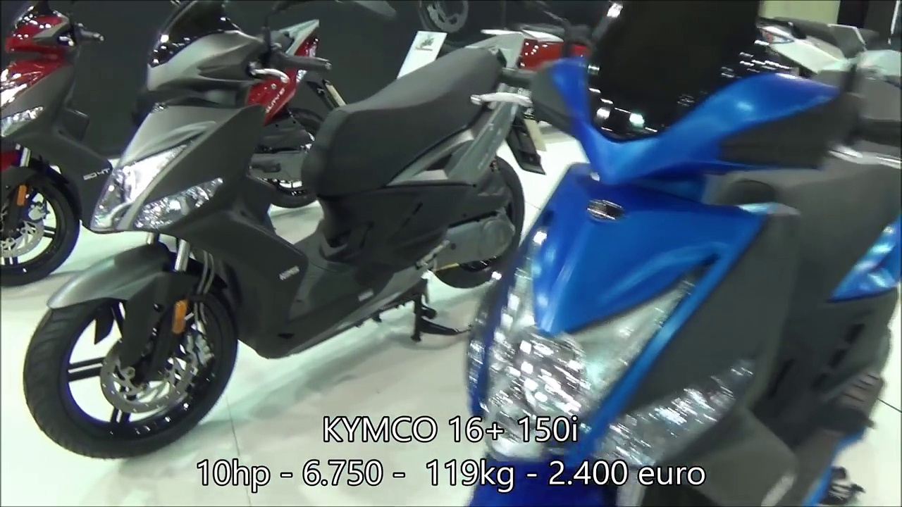 The KYMCO scooters 2017