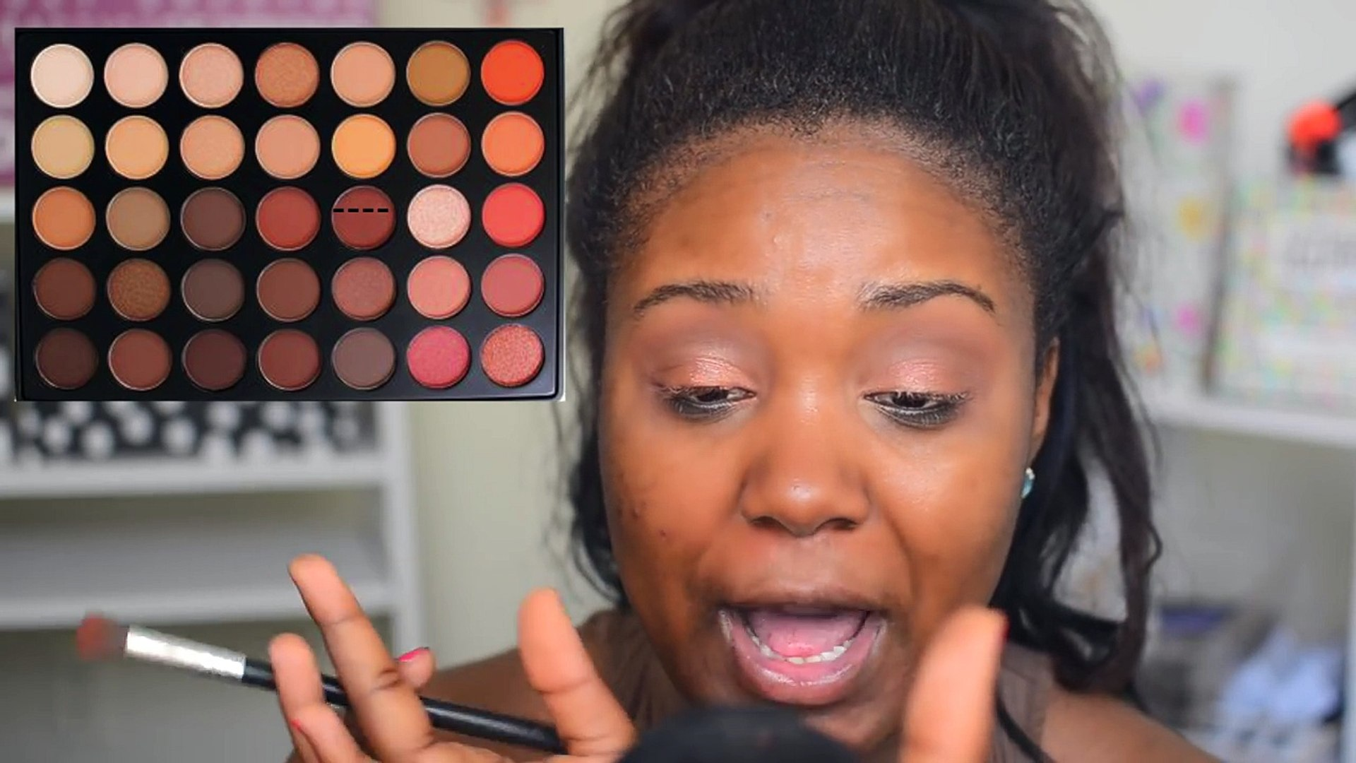 Dramatic Summer Night Makeup Tutorial I Flawless Foundation Routine For Black Women Dark Skin 2016 Video Dailymotion