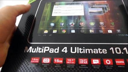 Prestigio MultiPad 4 Ultimate 10.1 3G - видео обзор