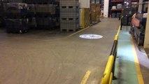 Fabrika iş üvenliği logo yansıt,Forklift geçiş yolları güvenlik ışığı,Vinç alanı güvenlik ışığı,Chariot élévateur à fourche, grue Safety Light