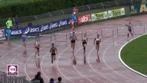 Albi 2017 : Finale 400 m haies Espoirs F (Meghane Grandson en 59''63)