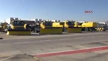 Sabiha Gökçen Havalimanı'nda Kış Hazırlıkları