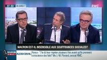Brunet & Neumann : Emmanuel Macron est-il insensible aux souffrances sociales ? - 31/01