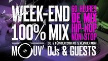 WEEK-END 100% MIX sur Mouv' :  60 heures de mix, 60 DJ #60HDEMIX