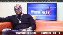Rey Mysterio On WCW and Wrestling Eddie Guerrero