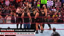 Braun Strowman, Brock Lesnar and Kane collide before the Royal Rumble event_ Raw 25, Jan. 22, 2018