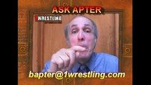ASK APTER -- WHO WOULD I PUT IN THE WWE HALL OF FAME 2012 CLASS.