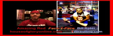 FACE-2-FACE ON 1WRESTLING BILL APTER CATCHES UP WITH AMAZING RED.wmv
