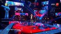 #MBCTheVoice - الموسم الثاني - سامر سعيد موال البستان