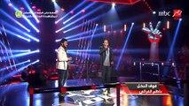 #MBCTheVoice - الموسم الثاني - سامر سعيد وعمار خطاب فوق النخل