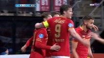 2-1 Guus Til Goal Holland  KNVB Beker  Quarterfinal - 31.01.2018 AZ Alkmaar 2-1 PEC Zwolle