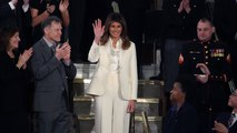 Melania Trump Wore A White Pantsuit To The State Of The Union Last Night And Now People Are Speculating That It Was A Tribute To Hillary Clinton And More News