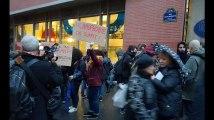 Une vingtaine de manifestants contre la lecture d'un texte de Charb dans une université parisienne