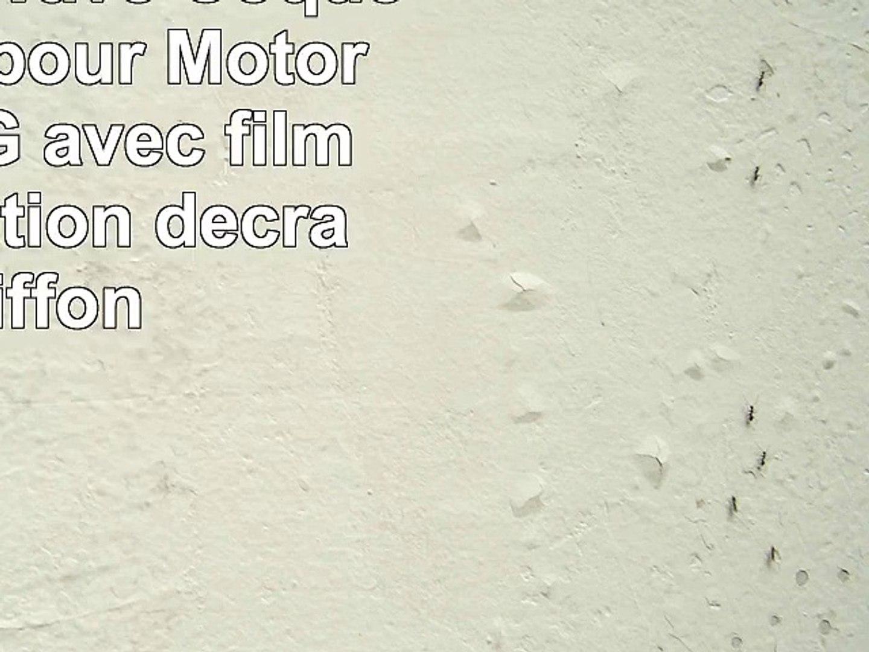 Samrick S Wave Coque hydrogel pour Motorola Moto G avec film de protection décran chiffon