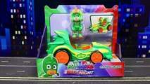 PJ Masks Race into the Night Race Cars with Night Ninja Taking Owlette Cape to Gain Flying Powers