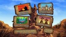 The Lion King 1 1/2 (2004) DvD Menu Walkthrough & Timon and Pumbaas Virtual Safari 1.5