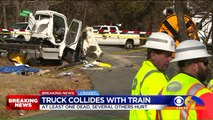 One Dead, One Critically Injured After Train Carrying Members of Congress Hits Garbage Truck