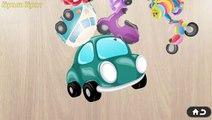 Vehículos De Transporte Para Niños - Vehículos De Construcción - Videos De