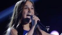 Valeria transforma el escenario cantando 'New York, New York' _ Audiciones _ La Voz Kids 2016-CX