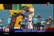 """Huaraz: karateca hizo """"papelón"""" durante exhibición de artes marciales"""