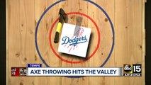 Axe throwing hits the Valley!