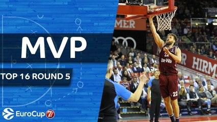 Top 16 Round 5 MVP: Danilo Barthel, FC Bayern Munich