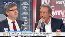 """Jean-Luc Mélenchon: """"Il faut faire naître un nouveau réseau d'élus à Marseille"""""""