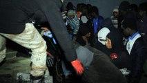 إنقاذ مهاجرين غير شرعيين قبالة سواحل طرابلس