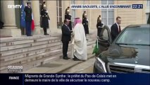 LE PRINCE HÉRITIER D'ARABIE SAOUDITE DÉCORÉ DE LA LÉGION D'HONNEUR