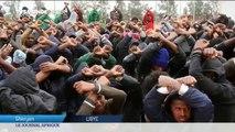 Libye des migrants africains ont manifesté contre leurs conditions de dét