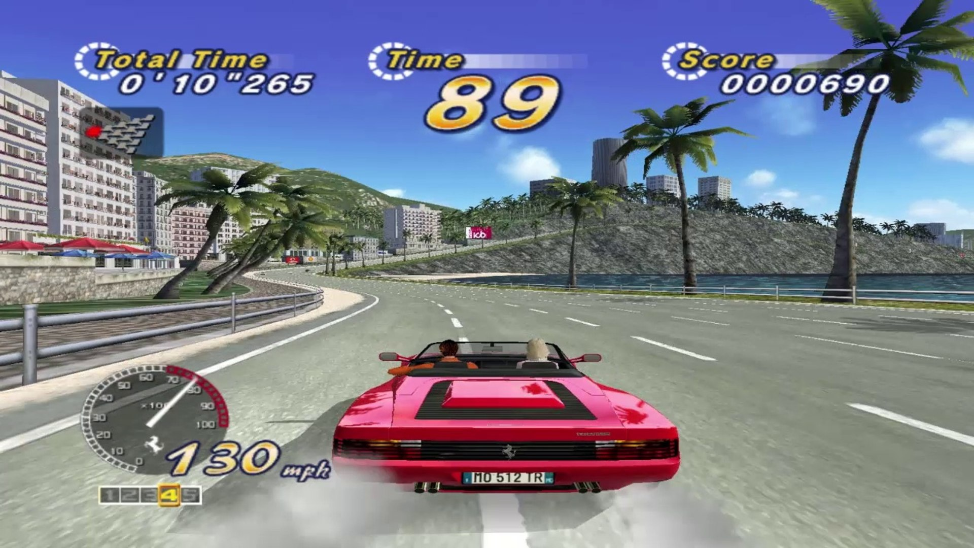 OutRun 2 - Route 1 (PC Gameplay)