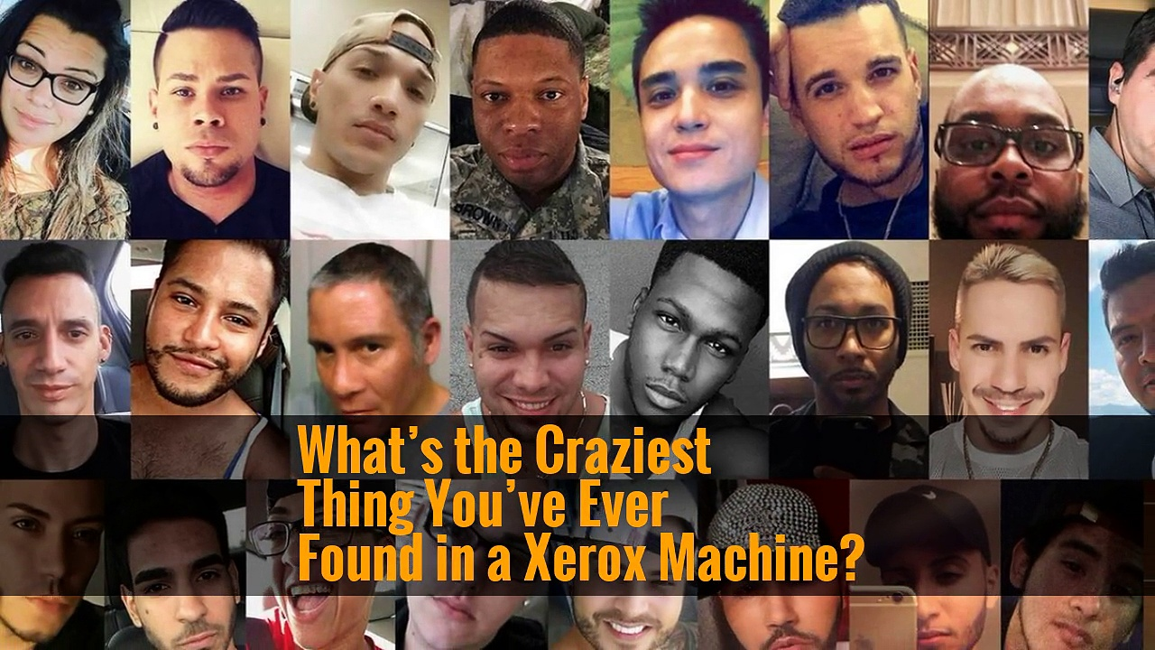 What's the Craziest Thing You've Ever Found in a Xerox Machine?