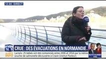 Crue en Normandie: des foyers privés d'électricité par mesure de sécurité