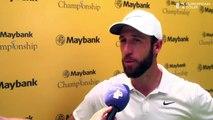 Maybank Championship (T1) : La réaction de Romain Wattel