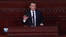 """""""Construire une politique arabe hors du monde arabe, ça ne marche pas"""", déclare Macron en Tunisie"""
