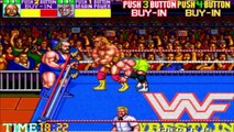 WWF WrestleFest - Saturday Night's Main Event (Arcade Gameplay)