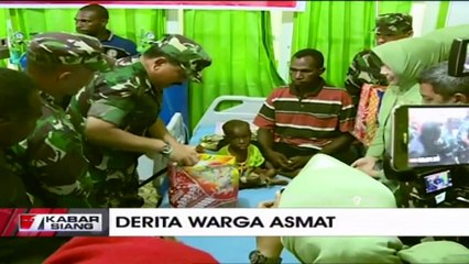 Tinjau Langsung ke Asmat, Panglima TNI Penanganan KLB Campak Telah Selesai