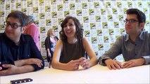 Bob's Burgers Q&A with Eugene Mirman, Kristen Schaal & Dan Mintz (SDCC 2015)