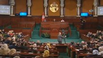 """Fransa Cumhurbaşkanı: """"Siz Tunus Halkı Olarak Demokrasi ile İslamın Bir Arada Bulunabileceğine..."""
