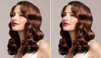 How to create glamour waves hair Tutorial