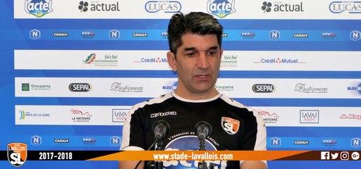 (J20) Boulogne - Laval, avant-match avec M.Pires