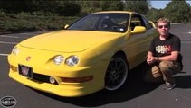 2000 Acura Integra Type R Start Up, Test Drive & In Depth Review