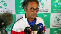 Coupe Davis 2018 - France - Pays-Bas - Yannick Noah nous raconte le remplacement de Tsonga ! Pourquoi Mannarino plutôt que Monfils ou Benneteau !
