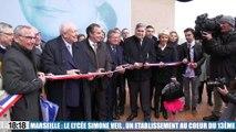 Marseille : inauguration du lycée Simone Veil en plein coeur du 13e arrondissement