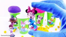 Lion Guard Team Umizoomi Mickey Mouse Play-Doh Ice Cream Clay Foam Cups Learn Colors Episodes