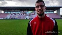 La première interview de Clément Petit pour son retour à l'Excel Mouscron en Division 1