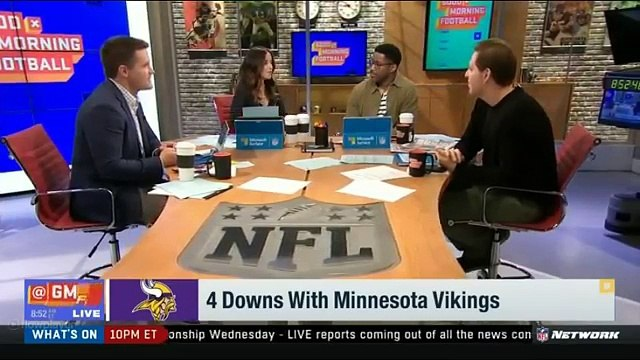 4 Downs With Minnesota Vikings | GMFB